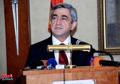Серж Саргсян – Президент Республики Армения с речью в Дейр-эз-Дзоре