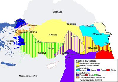 Как возрождалась армянская государственность в начале прошлого века. Севрский и другие международные договора.