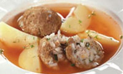 Старинный рецепт армянского супа «Кололик»