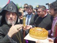 Визит Католикоса всех армян Гарегина II в Тбилиси