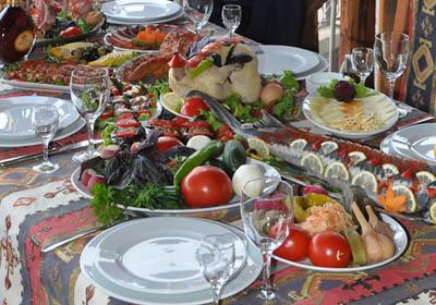 Говоря об армянской кухне...