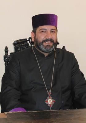 Предводитель епархии Св. Армянской Апостольской Церкви в Грузии Владыка Вазген епископ Мирзаханян