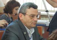 """Артавазд Сарицян – поэт, редактор культурно-просветительской газеты """"Амшен"""" (Сухуми, выходит с 1991 года)."""