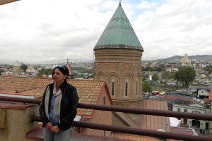 Аида Бабаджанова – журналист, блогер — знаток истории и архитектуры старого Тифлиса